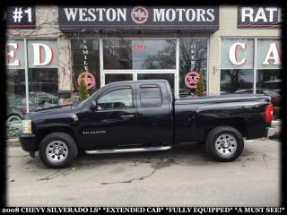Used 2008 Chevrolet Silverado 1500 LS *EXTENDED CAB *FULLY EQUIPPED *ALLOY WHEELS for sale in York, ON