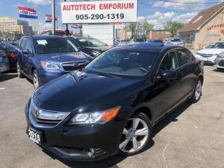 Used 2015 Acura ILX Dynamic Manual Navigation/Leather/Alloys/Sunroof for sale in Mississauga, ON