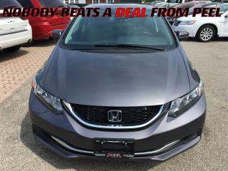 Used 2015 Honda Civic EX**LANEWATCH**BLUETOOTH**BACK-UP CAM** for sale in Mississauga, ON