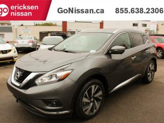 Used 2015 Nissan Murano PLATINUM - NAVIGATION, ADAPTIVE CRUISE CONTROL, PANORAMIC SUNROOF for sale in Edmonton, AB