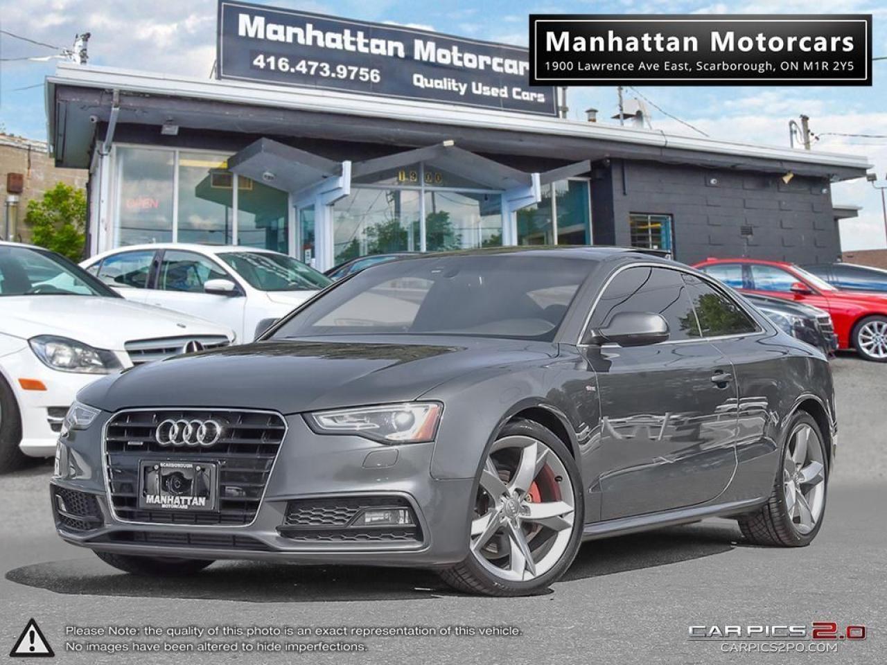 2013 Audi A5 2.0T QUATTRO S-LINE |6 SPEED|PANO|PHONE|NOACCIDENT