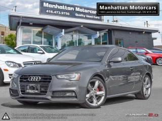 Used 2013 Audi A5 2.0T QUATTRO S-LINE |6 SPEED|PANO|PHONE|NOACCIDENT for sale in Scarborough, ON