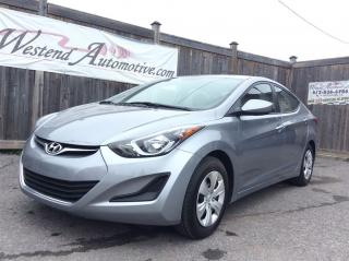 Used 2016 Hyundai Elantra GL   10755 Kms for sale in Stittsville, ON