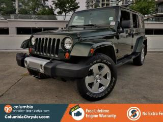 Used 2010 Jeep Wrangler Unlimited Sahara for sale in Richmond, BC