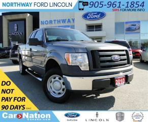 Used 2010 Ford F-150 XL | TONNEAU COVER | 4X4 | SUPER CAB |V8 | for sale in Brantford, ON