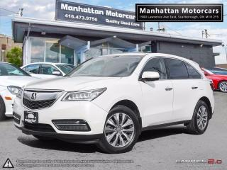 Used 2014 Acura MDX TECH PKG |NAV|CAMERA|BLI.SPOT|PHONE|7PASS|P.SHIFT for sale in Scarborough, ON