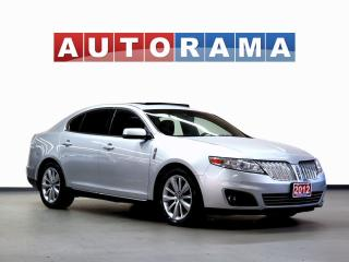 Used 2012 Lincoln MKS NAVI BACKUP CAM LEATHER SUNROOF 4WD for sale in North York, ON