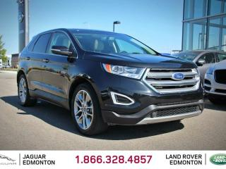 Used 2015 Ford Edge Titanium AWD - Local One Owner Trade In | No Accidents | Navigation | Back Up Camera | Parking Sensors | Panoramic Glass Sunroof | Heated/Cooled Front Seats | Heated Rear Seats | Heated Steering Wheel | Bluetooth | Microsoft SYNC | Factory Remote Starter  for sale in Edmonton, AB