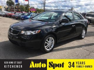 Used 2011 Kia Forte EX/ALLOYS-LOADED!/PRICED FOR A QUICK SALE! for sale in Kitchener, ON