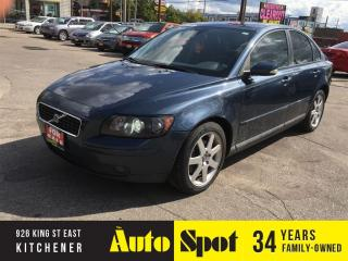 Used 2005 Volvo S40 2.4L/WOW !/PRICED FOR A QUICK SALE ! for sale in Kitchener, ON