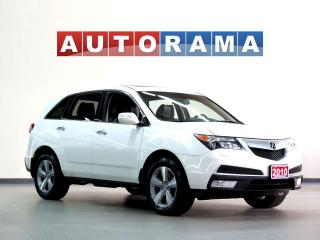 Used 2010 Acura MDX TECH PKG NAVI BACKUP CAM LEATHER SUNROOF 4WD for sale in North York, ON