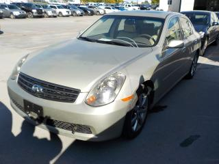Used 2005 Infiniti G35X for sale in Innisfil, ON