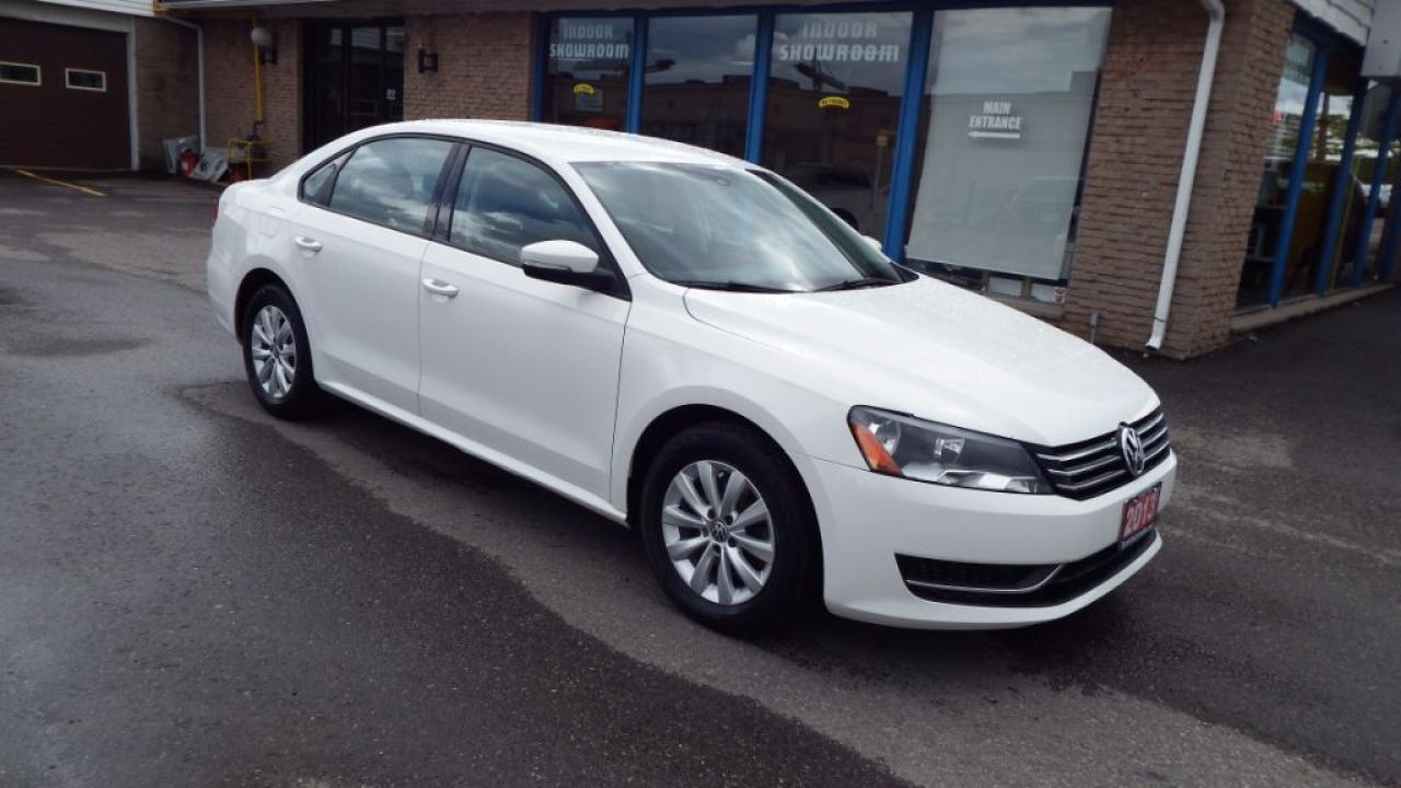 2013 Volkswagen Passat Trendline/AUTO/ALLOY/BLUETOOTH/IMMACULATE $11999