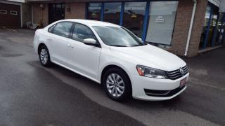 Used 2013 Volkswagen Passat Trendline/AUTO/ALLOY/BLUETOOTH/IMMACULATE $11999 for sale in Brampton, ON
