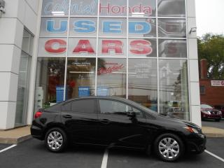Used 2012 Honda Civic LX MAN HAS A CARPROOF for sale in Halifax, NS