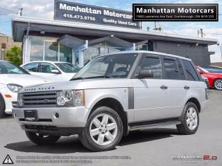 Used 2004 Land Rover Range Rover HSE LUXURY |NAV| PHONE |PARK ASSIST|NO ACCIDENT for sale in Scarborough, ON