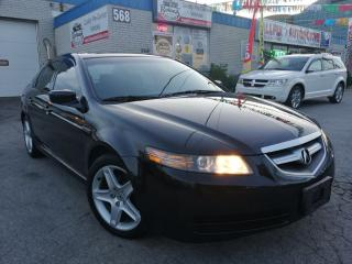 Used 2004 Acura TL w/NAVI Pkg_Sunroof_Leather for sale in Oakville, ON