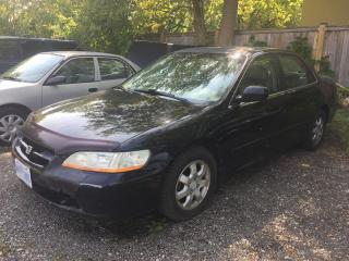 Used 2002 Honda ACCORD EX * LEATHER * SUNROOF for sale in London, ON