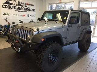 Used 2016 Jeep Wrangler SPORT for sale in Coquitlam, BC