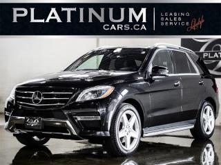 Used 2014 Mercedes-Benz ML-Class ML350 BlueTEC, AMG S for sale in North York, ON
