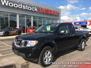 Used 2013 Nissan Frontier SV  - Bluetooth - $163.29 B/W for sale in Woodstock, ON