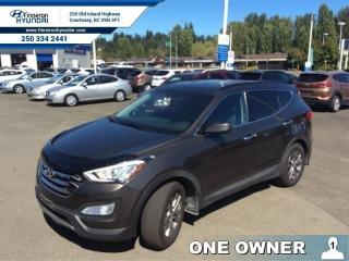 Used 2013 Hyundai Santa Fe 2.0T Limited  - one owner - local - trade-in for sale in Courtenay, BC