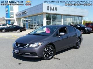 Used 2015 Honda Civic Sedan EX for sale in Carleton Place, ON