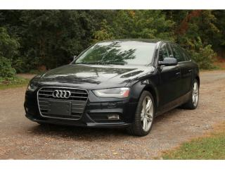 Used 2013 Audi A4 2.0T Premium Plus NAVI | SUNROOF | BLUETOOTH | AWD for sale in Waterloo, ON