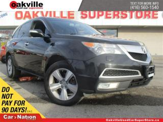 Used 2012 Acura MDX SH-AWD | LEATHER | SUNROOF | B/U CAM | DVD for sale in Oakville, ON
