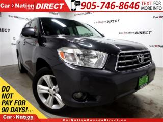 Used 2008 Toyota Highlander Limited| AWD| 7-PASSENGER| LEATHER| NAVI| SUNROOF| for sale in Burlington, ON