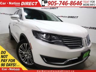 Used 2016 Lincoln MKX Reserve| AWD| NAVI| PANO ROOF| ECO BOOST| for sale in Burlington, ON