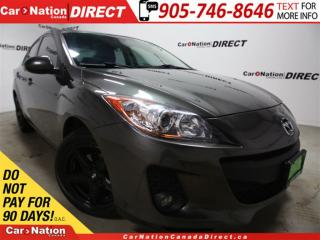 Used 2013 Mazda MAZDA3 GX| UPGRADED RIMS| WE WANT YOUR TRADE| for sale in Burlington, ON