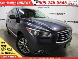 Used 2014 Infiniti QX60 | AWD| LEATHER| NAVI| SUNROOF| for sale in Burlington, ON