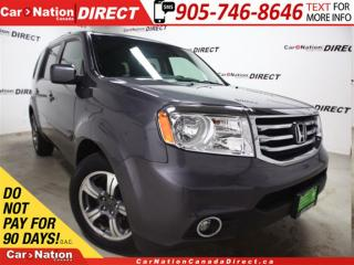 Used 2015 Honda Pilot SE| 4X4| DVD| SUNROOF| LEATHER-TRIMMED SEATS| for sale in Burlington, ON