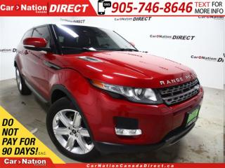 Used 2013 Land Rover Evoque Pure| COUPE| PANO ROOF| NAVI| 4X4| for sale in Burlington, ON