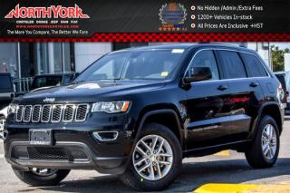 New 2018 Jeep Grand Cherokee New Car Laredo 4x4|Security&Convi.Pkg|R-Start|HeatFrntSeats|18
