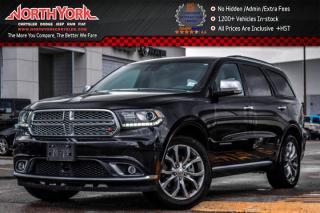 Used 2016 Dodge Durango Citadel Platinum AWD|7-Seater|Leather|Sunroof|Nav|20