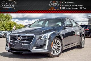 Used 2014 Cadillac CTS Sedan Luxury AWD|Navi|Pano Sunroof|Bluetooth|Backup Cam||R-Start|17