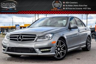 Used 2014 Mercedes-Benz C-Class C 350|4Matic|Navi|Sunroof|Backup Cam|Bluetooth|Keyless|18