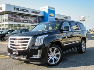 Used 2016 Cadillac Escalade PREMIUM, DVD SYSTEM, POWER STEPS, KONA BROWN INTERIOR for sale in Ottawa, ON