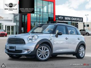 Used 2014 MINI Cooper Countryman *AUTOMATIC*, sunroof, heated seats, bluetooth for sale in Oakville, ON