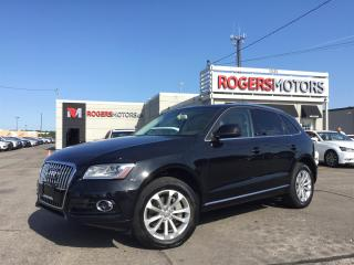 Used 2014 Audi Q5 TDI QTRO - DVD - NAVI - REVERSE CAM for sale in Oakville, ON