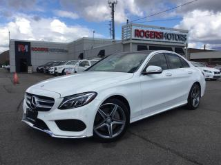 Used 2015 Mercedes-Benz C-Class C400 4MATIC - NAVI - REVERSE CAM for sale in Oakville, ON