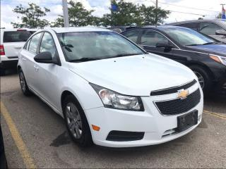Used 2012 Chevrolet Cruze LS**LOW KM'S!!**KEYLESS ENTRY**A/C**POWER LOCKS** for sale in Mississauga, ON