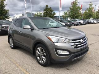 Used 2013 Hyundai Santa Fe Sport 2.0T LIMITED AWD**PANORAMIC SUNROOF**NAVIGATION** for sale in Mississauga, ON