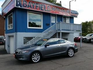Used 2008 Honda Accord EX-L V6 Coupe **Auto/Leather/Sunroof** for sale in Barrie, ON