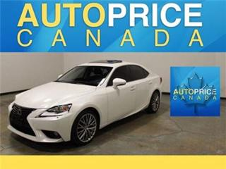 Used 2014 Lexus IS 250 AWD LEATHER MOONROOF for sale in Mississauga, ON