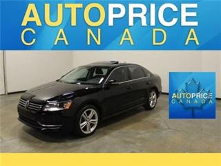 Used 2014 Volkswagen Passat HEATED SEATS LEATHER MOONROOF for sale in Mississauga, ON