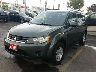 Used 2008 Mitsubishi Outlander ES for sale in Brampton, ON