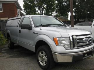 Used 2012 Ford F-150 XLT AC 4x4 Reg Cab Long box service cap for sale in Ottawa, ON